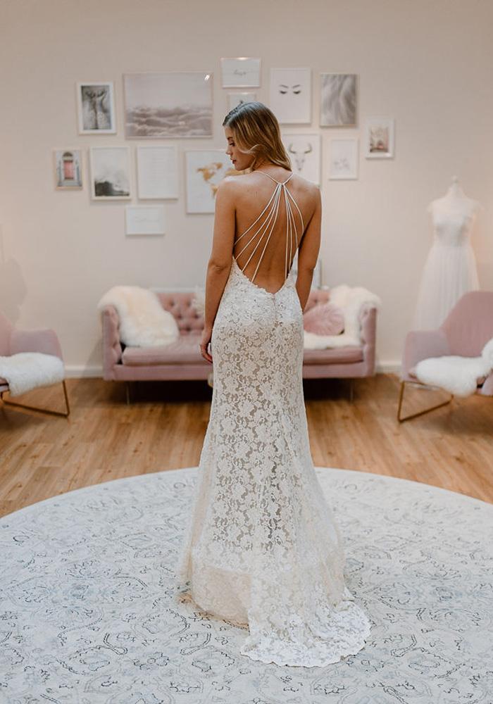 Meerjungfrauen Schnitt - Brautkleid