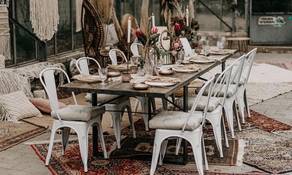 Möbel für Hochzeiten