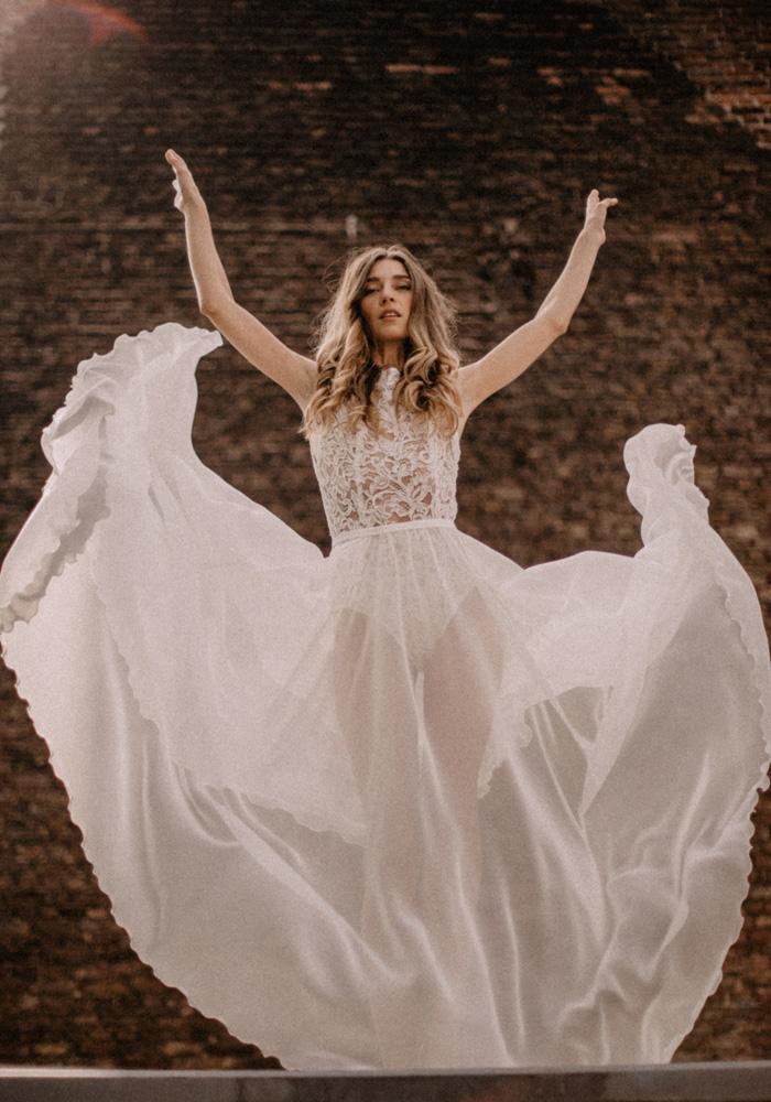 Brautkleid aus Luisas Kollektion