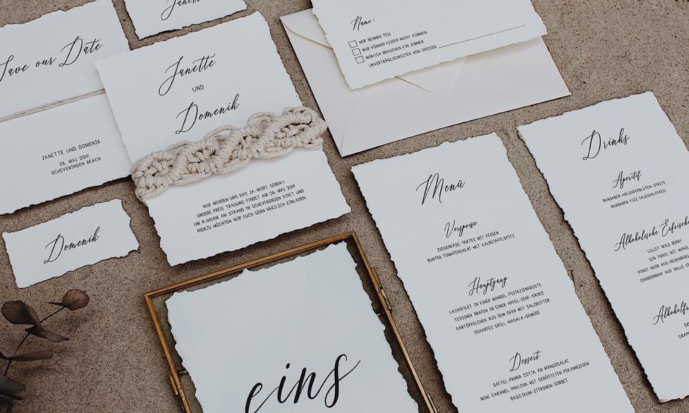 Hochzeitskarten und mehr